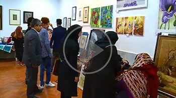 نمایشگاه هنرهای تجسمی هنرستان های بجنورد